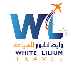 White Lilium travel